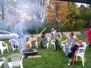 2011 Fall FKHA bonfire