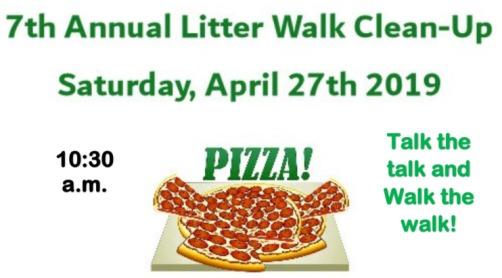 Litter walk